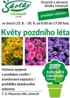 Výstava květy pozdního léta 2019